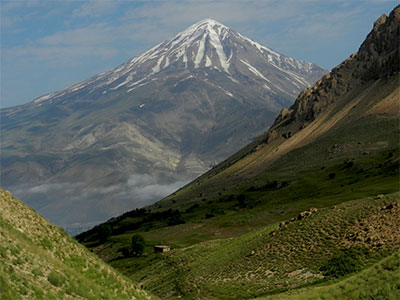Map picture of Climbing Damavand tour